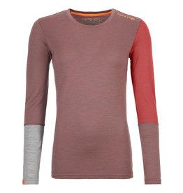 Ortovox 185 RockNWool Long Sleeve W Blush Blend