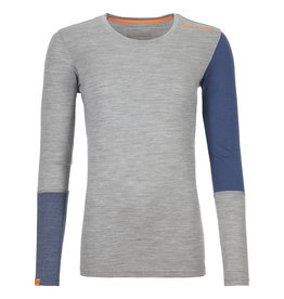 Ortovox 185 RockNWool Long Sleeve W Grey Blend