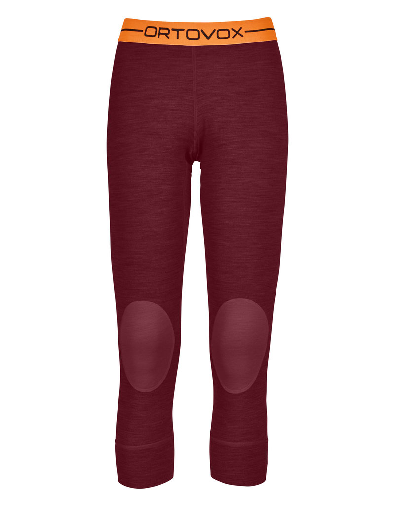 Ortovox 185 RockNWool Short Pants W Dark Blood Blend