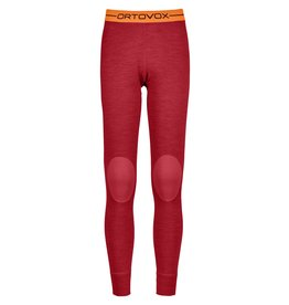 Ortovox 185 RockNWool Long Pants W Hot Coral Blend