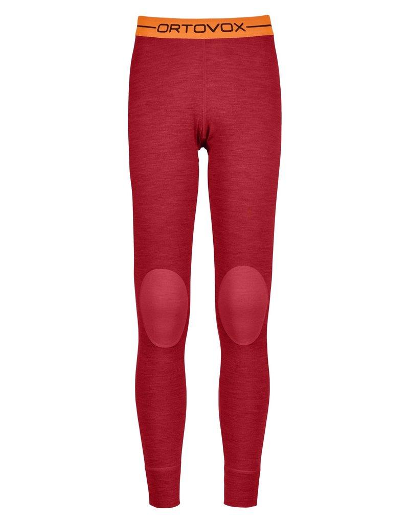 Ortovox 185 RockNWool Long Pants W Hot Coral Blend
