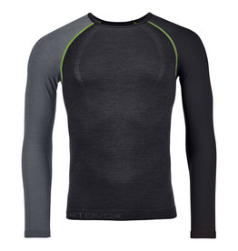 Ortovox 120 Comp Light Long Sleeve M Black Raven