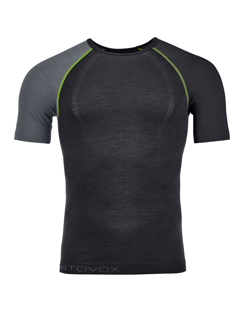 Ortovox 120 Comp Light Short Sleeve M Black Raven