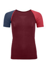 Ortovox 120 Comp Light Short Sleeve W Dark Blood