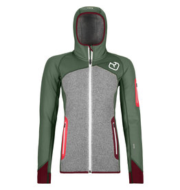 Ortovox Fleece Plus Hoody W Green Forest