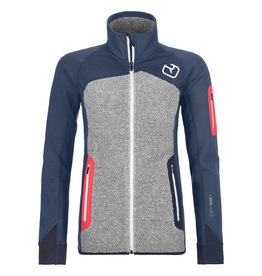 Ortovox Fleece Plus Jacket W Night Blue