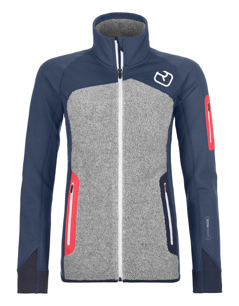 Ortovox Fleece Plus Jacket W Night Blue