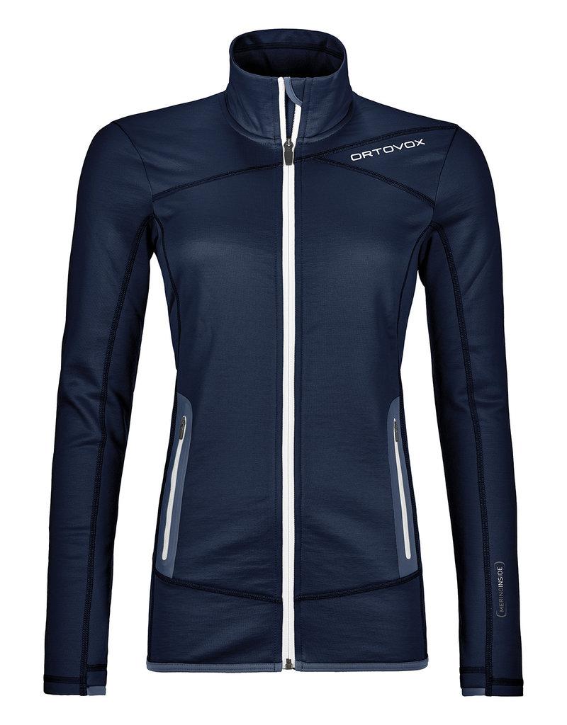 Ortovox Fleece Jacket W Dark Navy