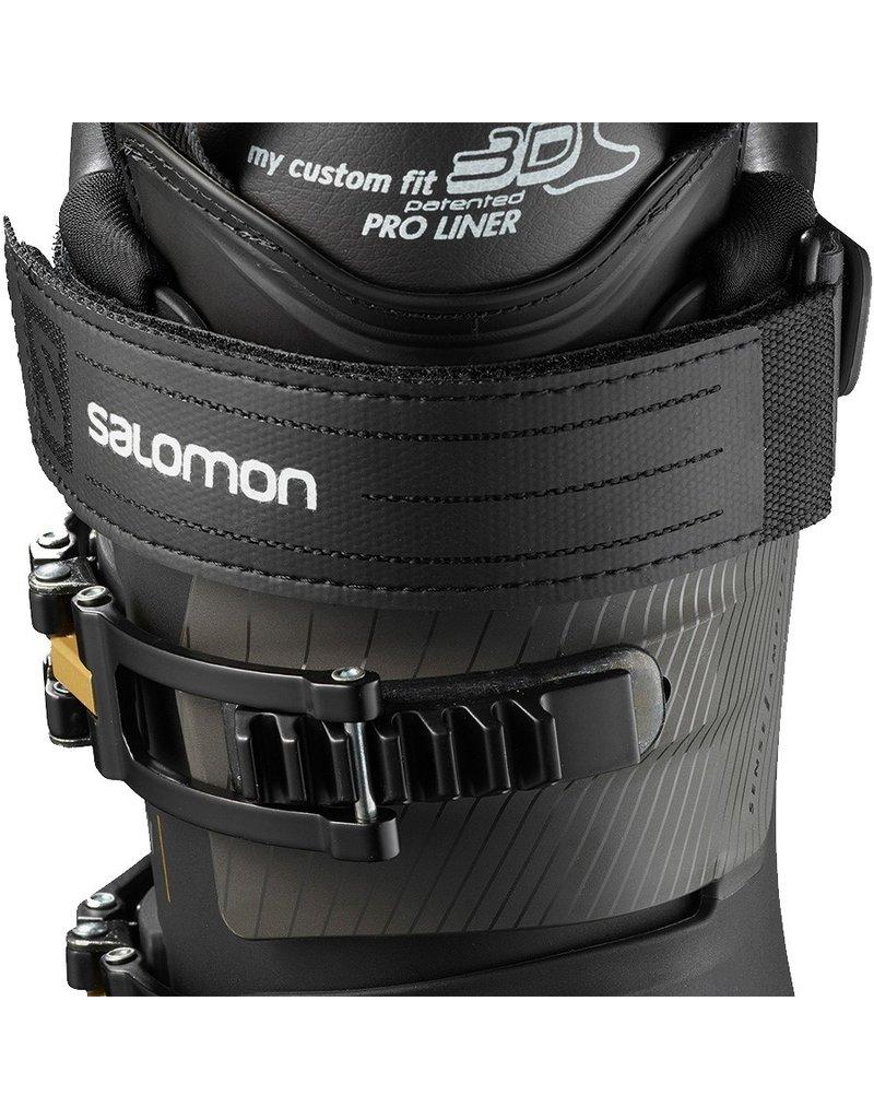 Salomon S/Max 110 W Dames skischoenen Black Gold Glow