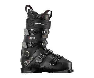 Salomon SPro 120 Skischoenen Black Belluga Red