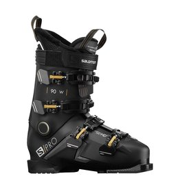 Salomon S/Pro 90 W Black Belluga Gold