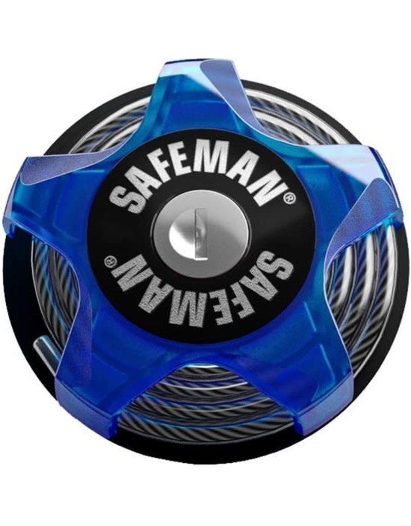 Safeman Ski Lock Blauw
