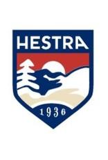 Hestra Primaloft Leather Female 5-finger Black