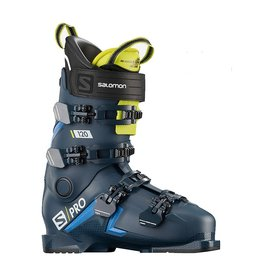 Salomon S/Pro 120 Petrol Blue Race Blue Acid Green