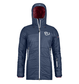Ortovox Swisswool Verbier Parka W Night Blue Blend