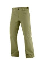 Salomon Men's Brilliant Ski Pants Martini Olive
