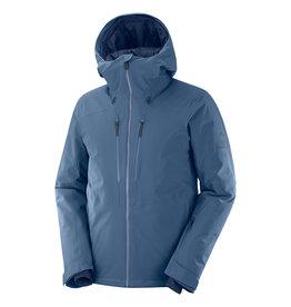 Salomon Men's Highland Ski Jacket Dark Denim