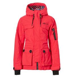 Rehall Sofie-R Junior Ski Jacket Girls Red Pink