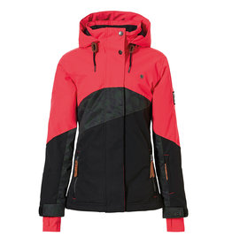 Rehall Jaymie-R Junior Ski Jacket Girls Red Pink