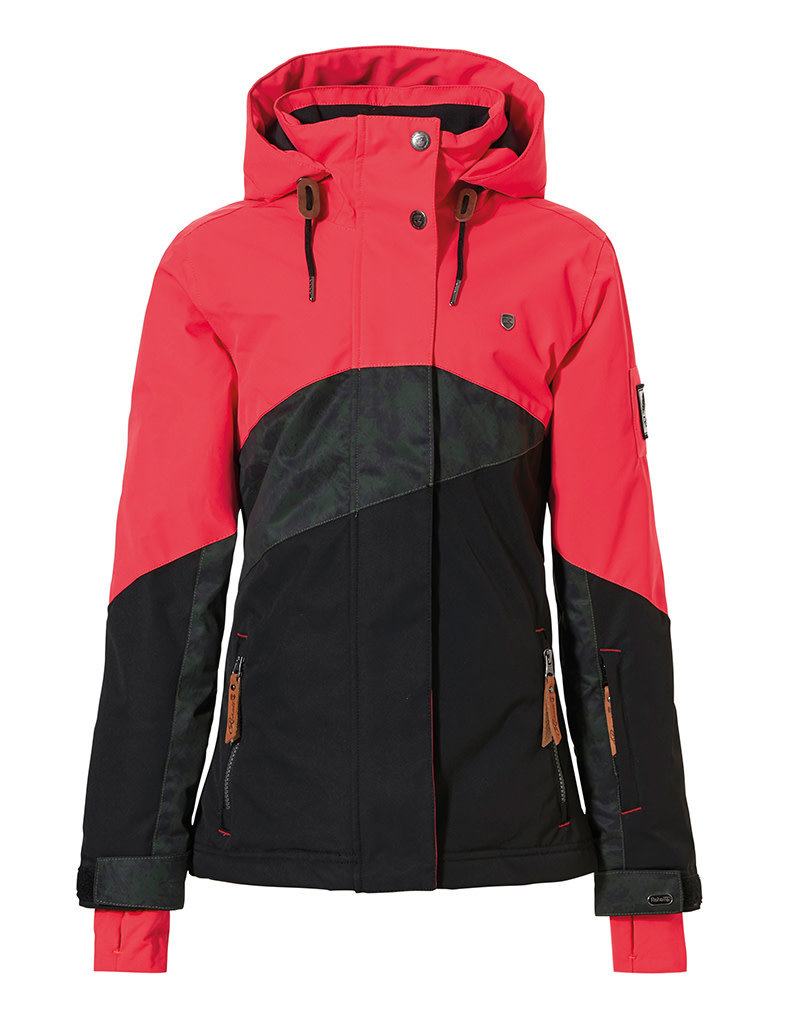 Rehall Jaymie-R Junior Meisjes Ski Jas Red Pink
