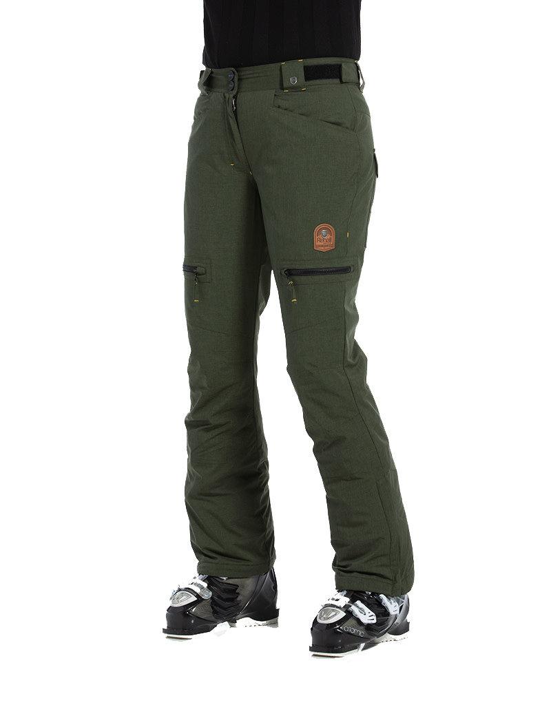 Rehall Women's Keely-R Ski Pants Olive Melange