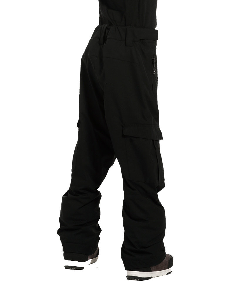 Rehall Boy's Edge-R Junior Ski Pants  Black
