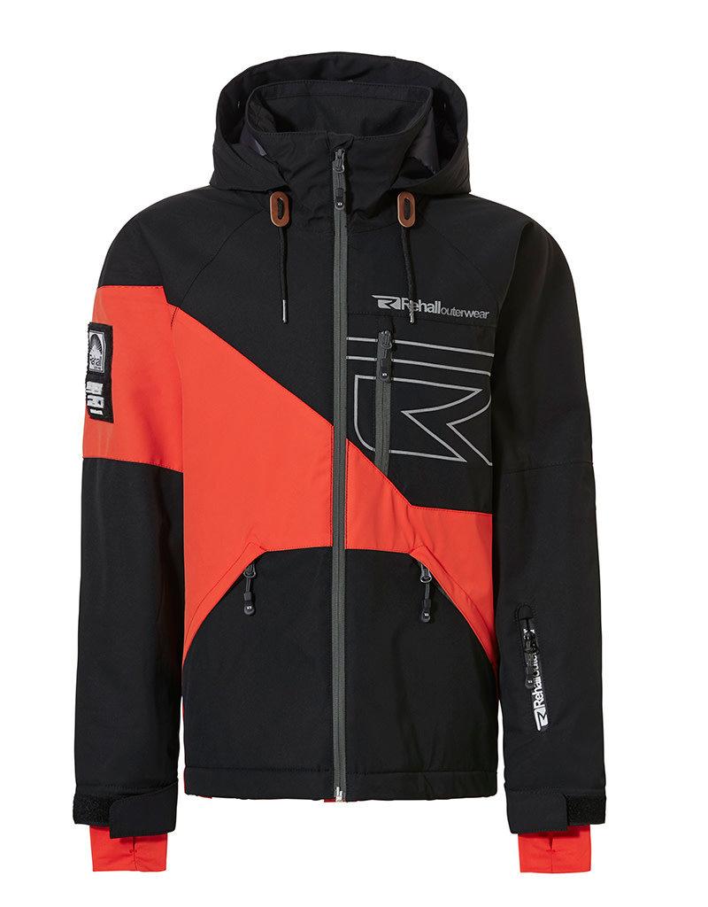 Rehall Maine-R Jongens Ski Jas Vibrant Orange
