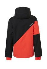Rehall Boy's Maine-R Junior Ski Jacket Vibrant Orange