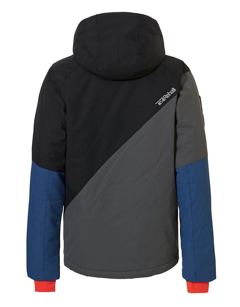 Rehall Boy's Maine-R Junior Ski Jacket Oak Grey