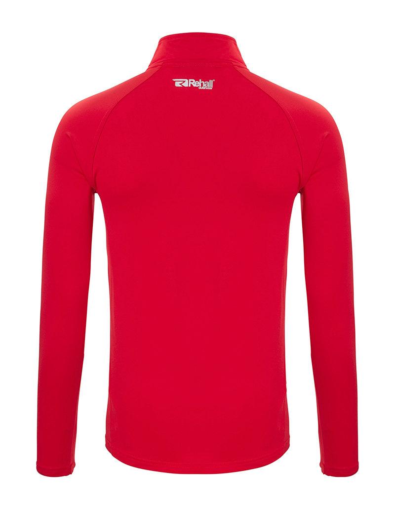 Rehall Men's Ronny-R Basic Ski Pully Flame Red