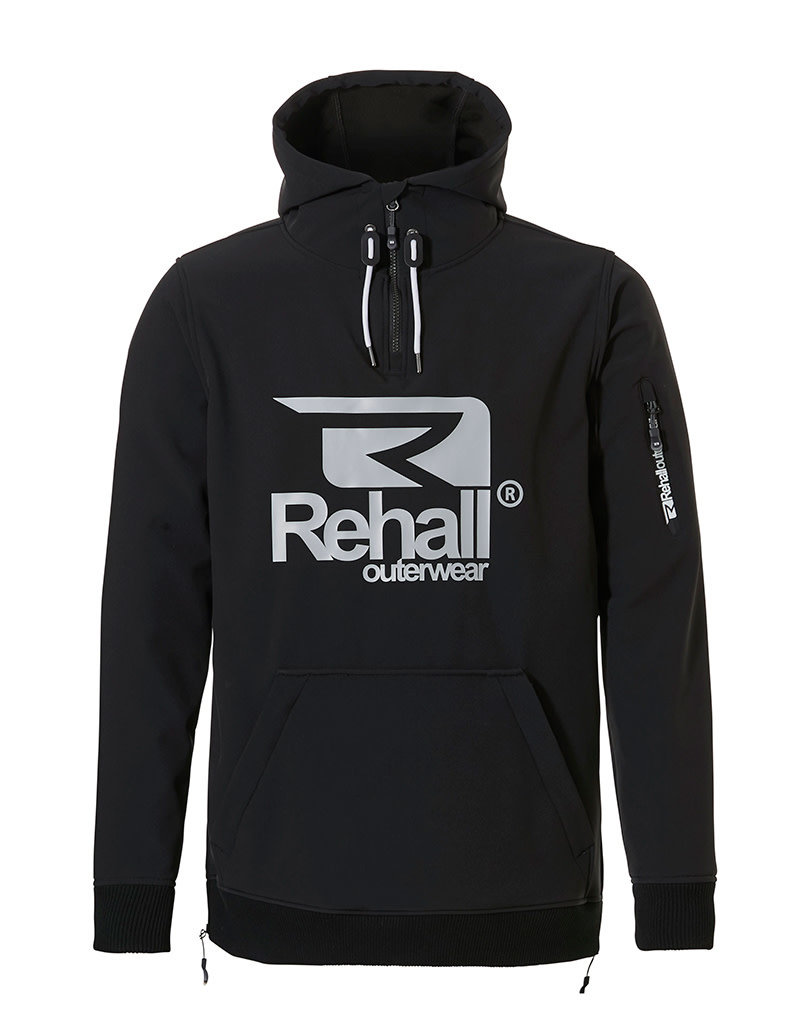 Rehall Jeff-R Heren Softshell Anorak Black
