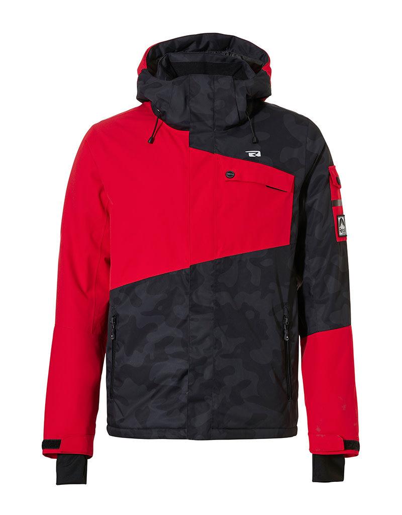 Rehall Men's Isac-R Ski Jacket Flame Red