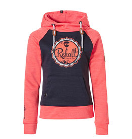 Rehall Jana-R Junior Hoody Girls Hot Coral