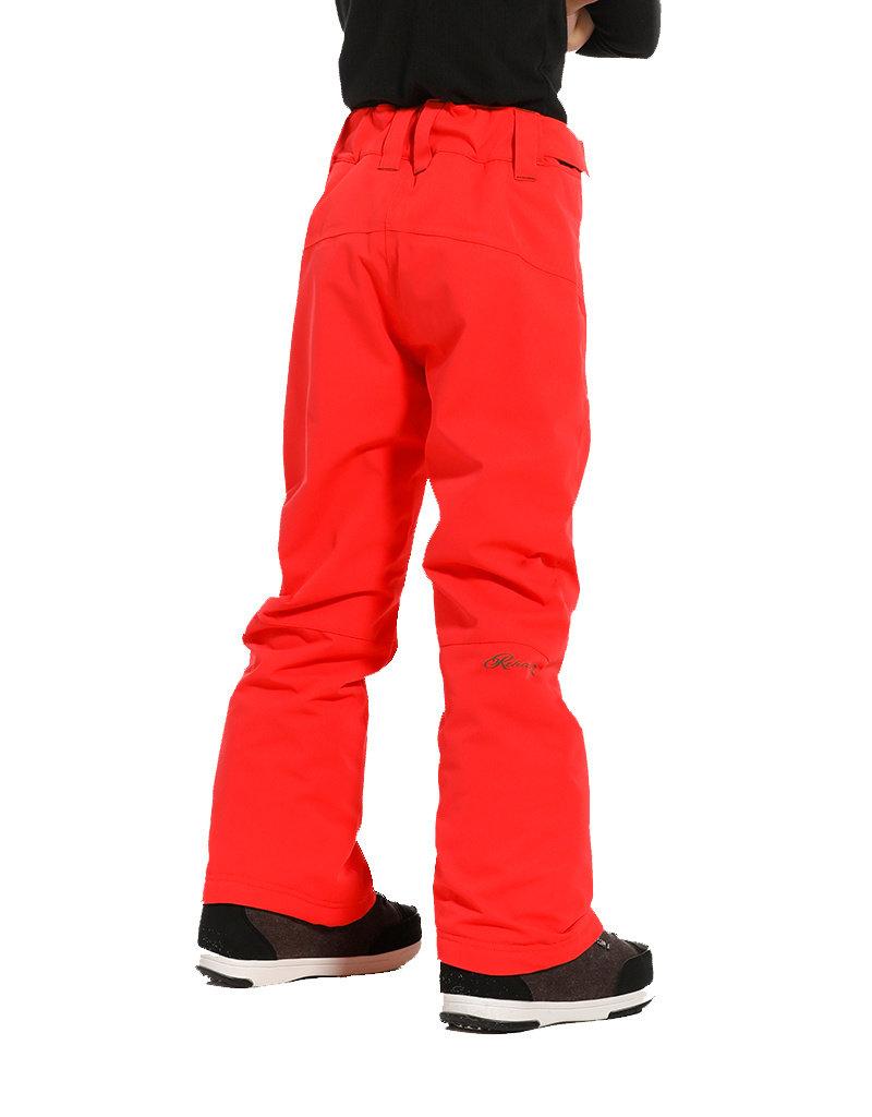 Rehall Abbey-R Junior Ski Pants Girls Red Pink