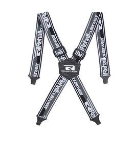 Rehall Suspect-R Elastic Suspenders Black