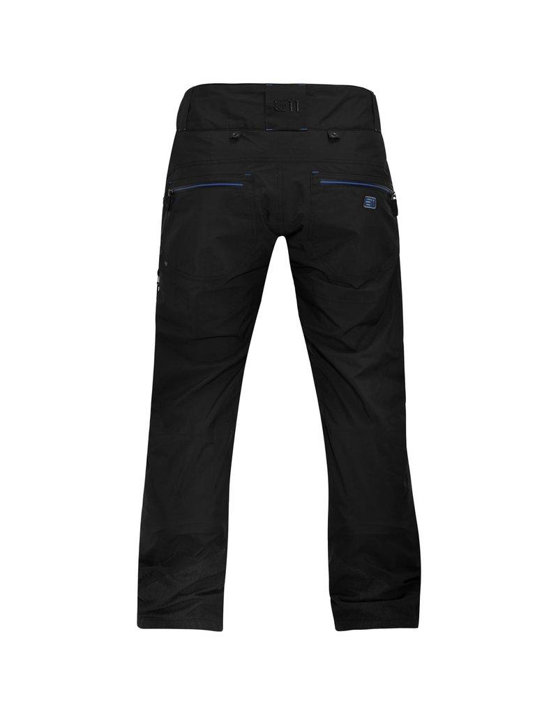 Elevenate Men's Creblet Ski Pants Black
