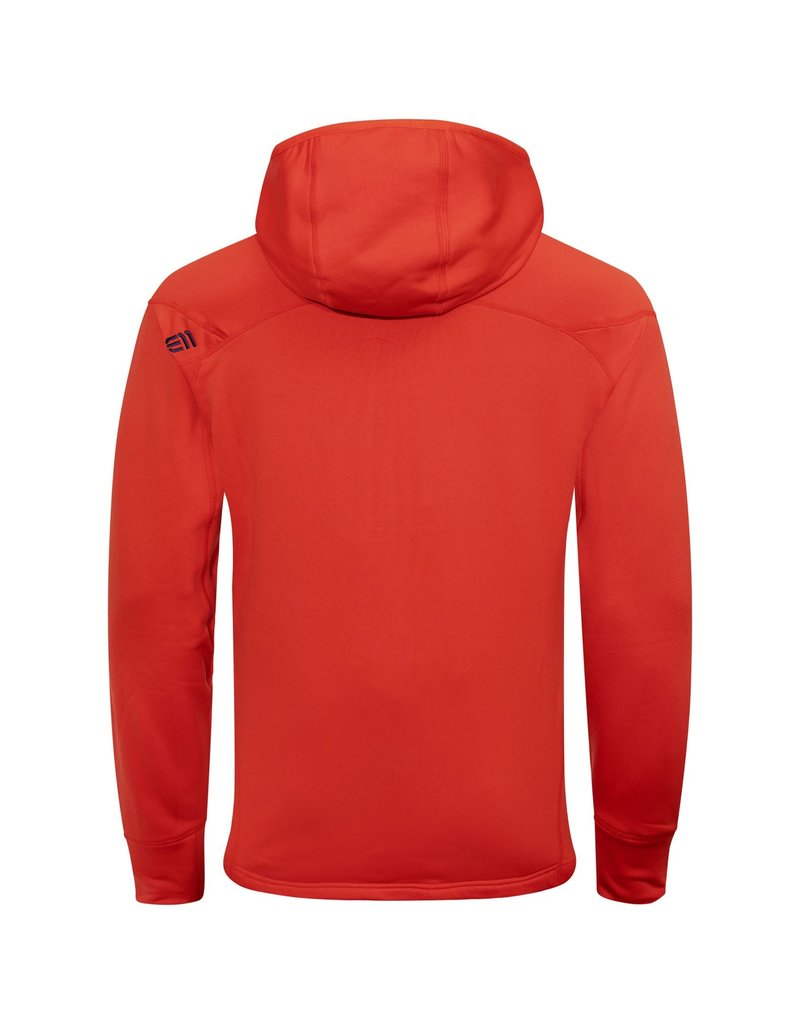 Elevenate Montée Heren Hoodie Red Glow