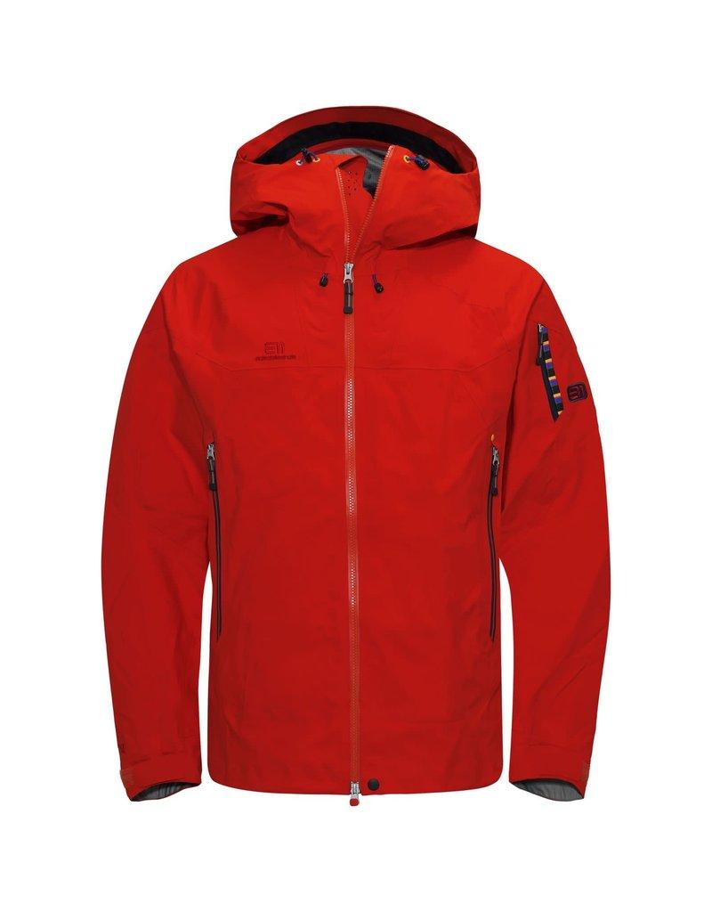 Elevenate Bec de Rosses Ski Jas Red Glow