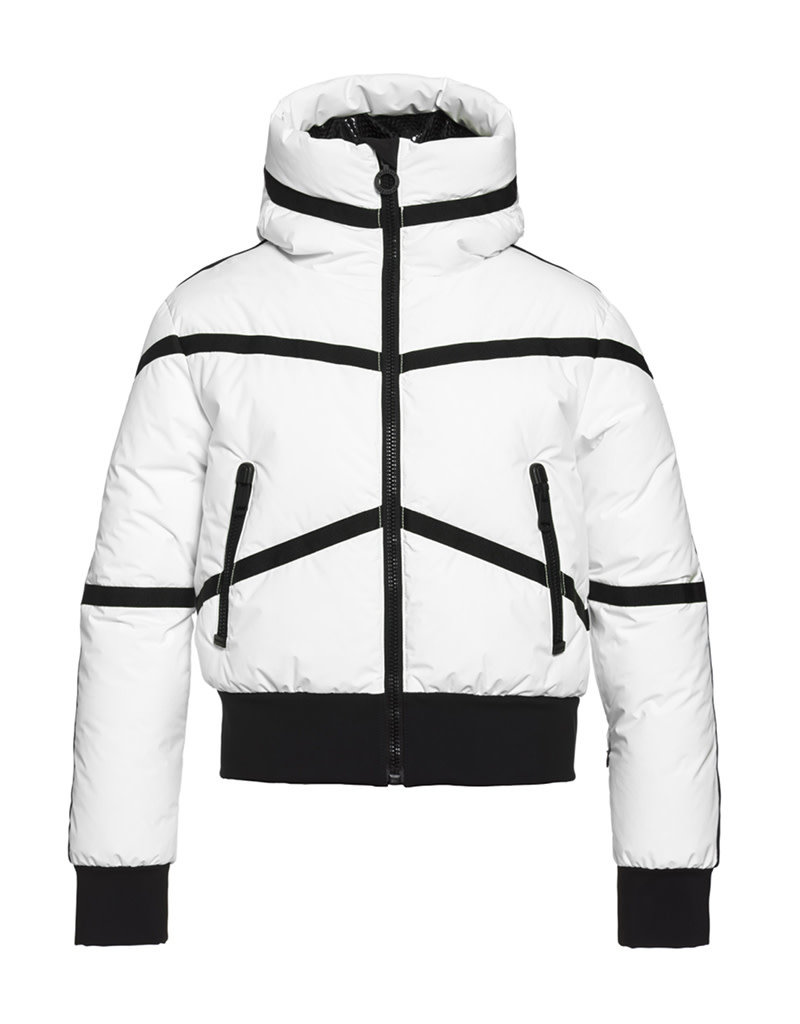 Goldbergh Women's Web Ski Jacket White