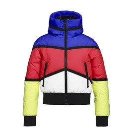 Goldbergh Women's Mondriaan Ski Jacket Rainbow