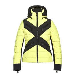 Goldbergh Cross Dames Ski Jas Neon Yellow