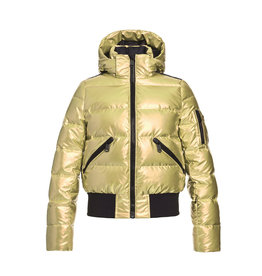 Goldbergh Women's Aura Ski Jacket No Fur Gold