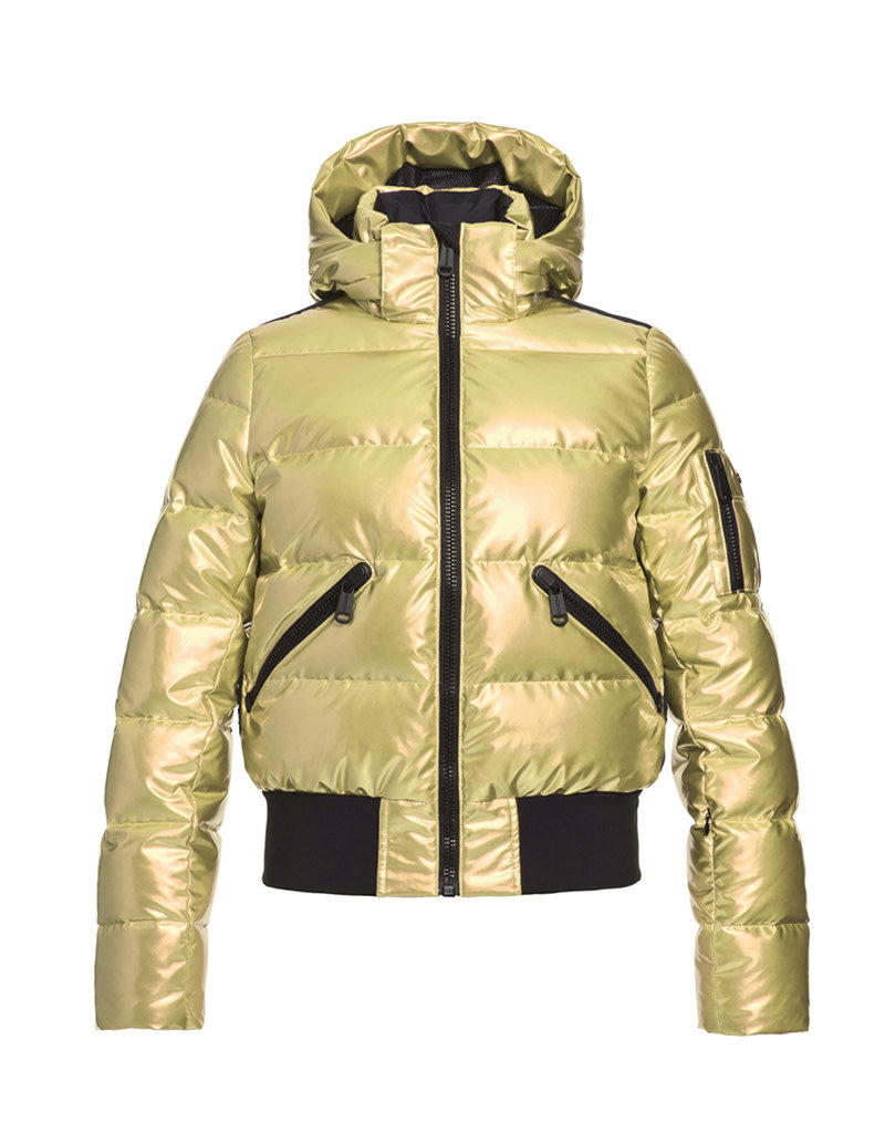 Goldbergh Women's Aura Ski Jacket No Fur Gold