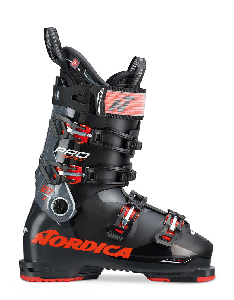 Nordica Pro Machine 120 X  Black/Anthracite/Red