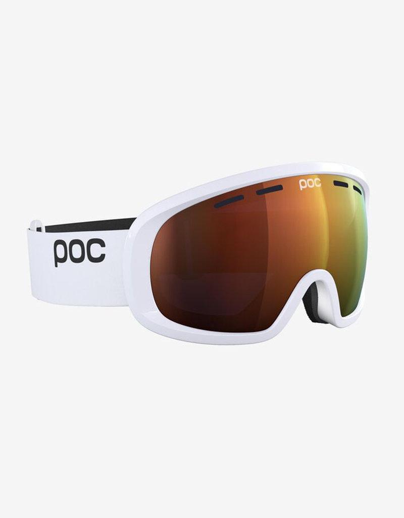 POC Fovea Mid Clarity Skibril Hydrogen White Spektris Orange