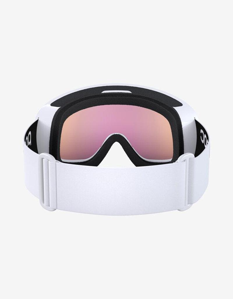 POC Fovea Mid Clarity Goggle Hydrogen White Spektris Orange