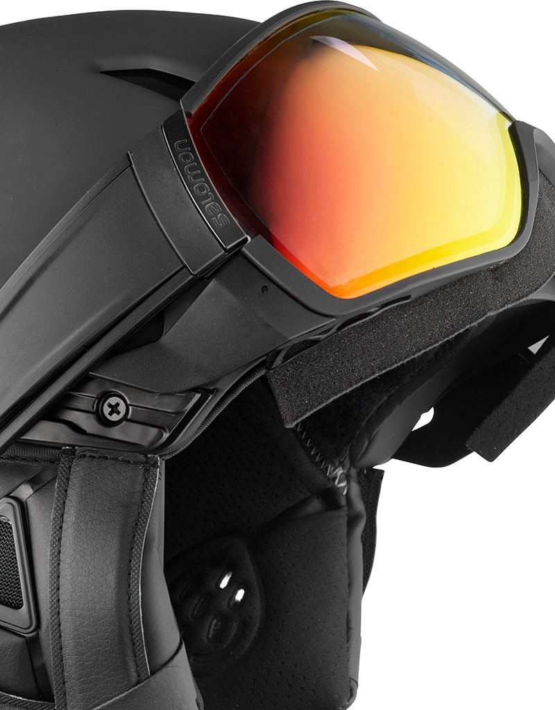Salomon Driver+ Photo Helmet Black