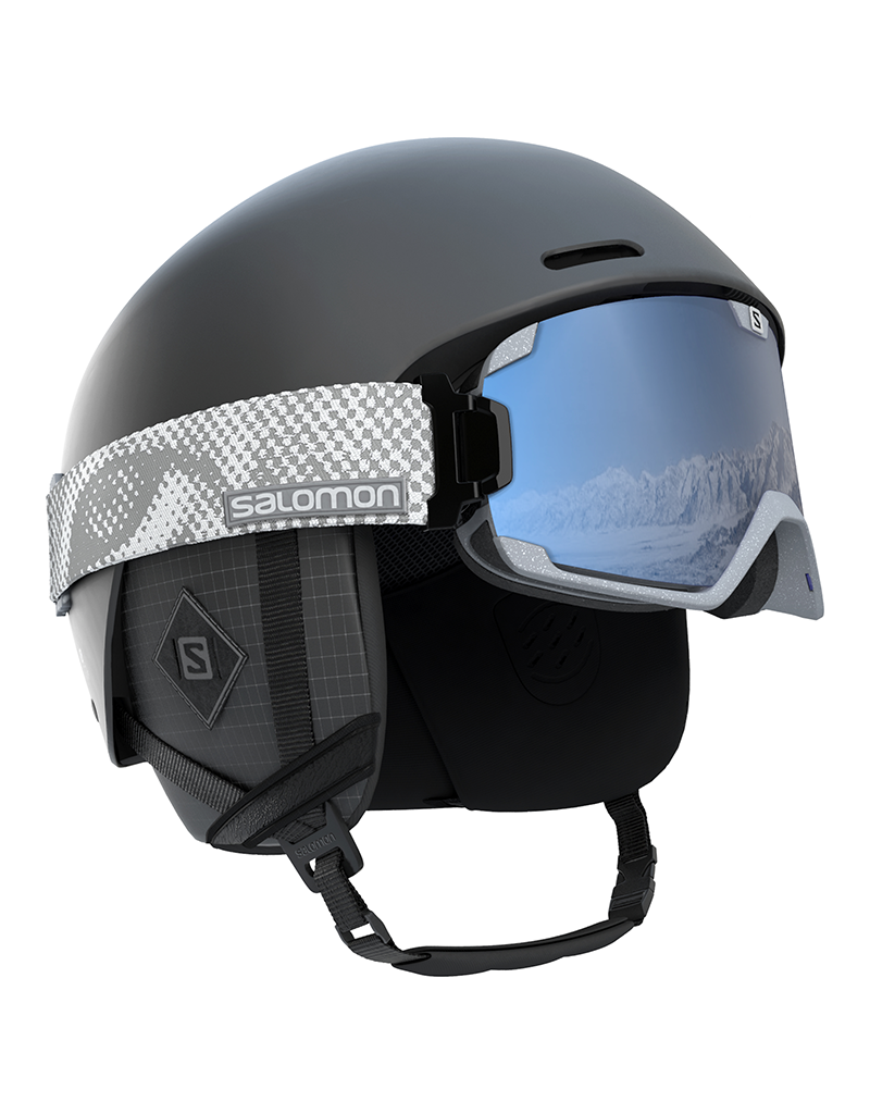 Salomon Brigade+ Helm All Black
