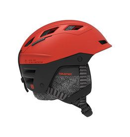 Salomon QST Charge Helmet Red/Orange