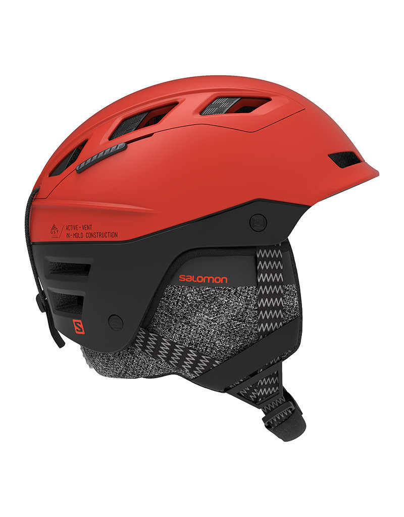 Salomon QST Charge Helm Red/Orange